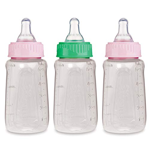 First Essentials by NUK clearview bottle, girl, 5 Oz, 3 - Pack