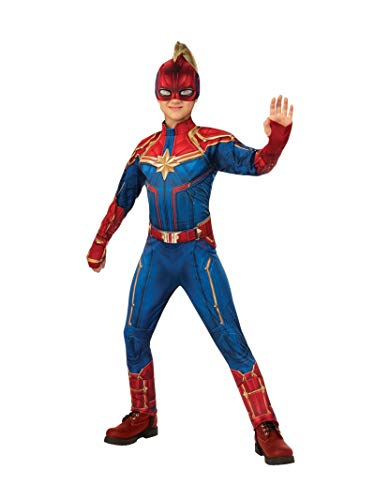 Rubies Captain Marvel Disfraz, Multicolor, Large (700597)