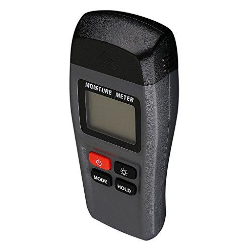 Sharplace Humidimètre Testeur D'humidité Du Bois Hygromètre LCD Numérique