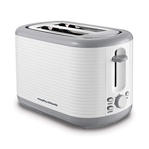 Morphy Richards 228399 Arc 2 Slice Toaster, White