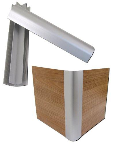 4X Aluminium Profile Wasserbetten Sockel Aluecken Ecken Podest Eckprofile Blenden
