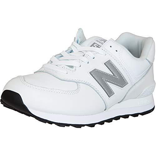 New Balance NB 574 Zapatillas, color Blanco, talla 46.5 EU