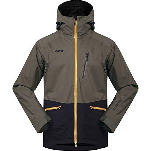 Bergans Myrkdalen Insulated Jacket Men - Warme Wintersportjacke mit Schneefang