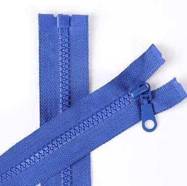 Houer 1PCS 70cm Harsrits voor naaien Kleding Slaapzak Rits, koningsblauw, 5