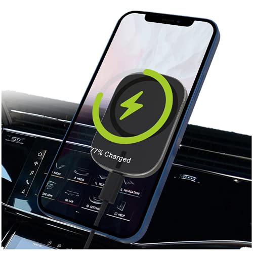 HUIHAO15W car Wireless Charger, Compatible with iPhone 12 Mini / 12 Pro / 12 Pro Max,Car Air Vent Phone Mount , Magnetic car Phone Base.Best Magnetic Mount