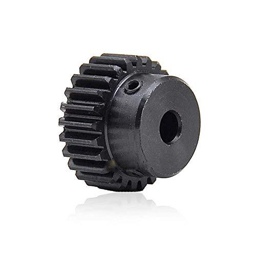 1 Mod 30T Steel Pinion Gear 1M30T Motor Spur Gear Bore 8mm Outer Diameter 32mm (Bore 8mm)