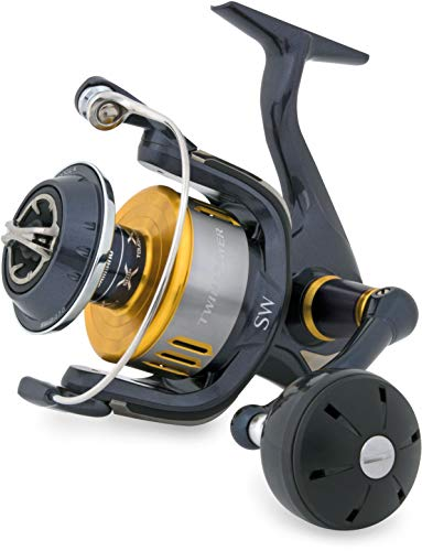 Japan-Shimano - Moulinet Spinning - Twin Power 10000 SW-B PG - 650g - R:4.9:1 - cap.0.405Mm/300m - Tp10000Swbpg - Sh46A15014