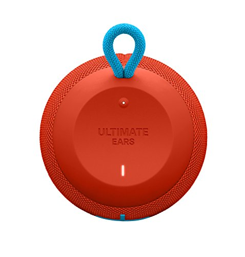 UE WONDERBOOM Super Portable Waterproof Bluetooth Speaker, Fireball Red