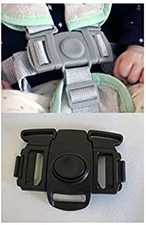 Black 5 Point Harness Buckle Clip Replacement Part for Graco DuetConnect Swing Rocker Bouncer Models Seat Safety for Babies, Toddlers, Kids, Children