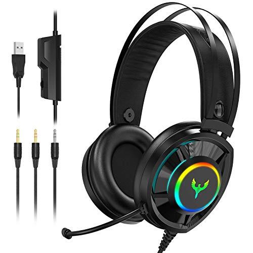 Blade Hawks Auriculares para Juegos , Headset Gaming con Son