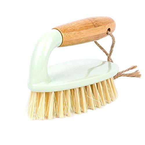 Heng Wassen Tool Decontaminatie Houten Handvat Scrub Tegelvloer Huishoudelijke Doek Reinigingsborstel Badkuip Badkamer Strijkijzer Keuken