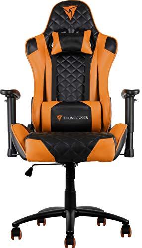Thunderx3 Spain TG12BO Silla gaming profesional, Naranja