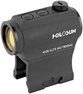 Holosun Micro Green Dot Sight LED 2MOA With Mount Black HE403B-GR Elite