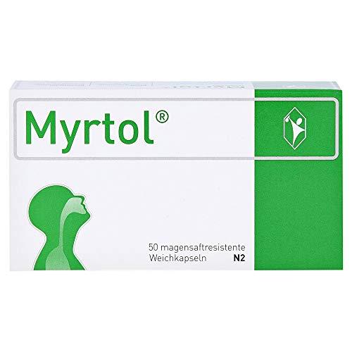 GeloMyrtol MYRTOL magensaftresistente Weichkapseln - 50 St Magensaftresistente W