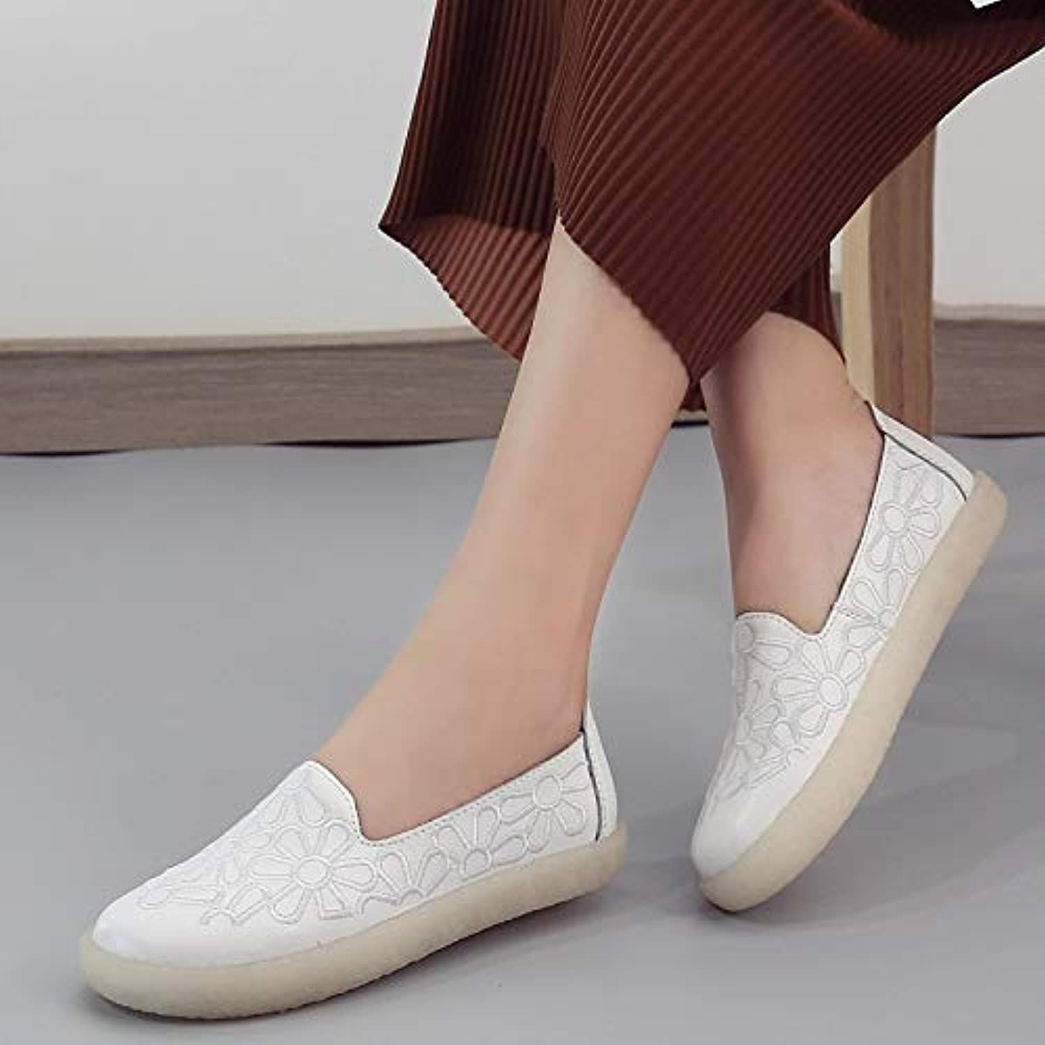 GzPuluz Fashion Sneakers Embroidered Breathable Wearable Wild Casual shoes for Women