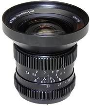 SLR Magic 10mm T/2.1 Hyperprime Cine Lens for Micro Four Thirds Cameras, 12 Groups/13 Elements, 0.20m Minimum Focusing Distance, Manual Focus