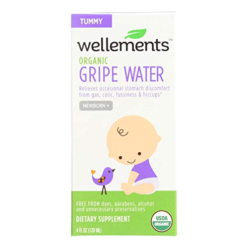 4 Savers Package:Wellements Gripe Water for Colic (1x4 Oz)