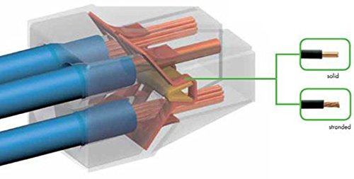 Wago 773-166 Push Wire Connector – 6 Conductor – 10 PK
