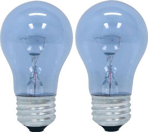 GE Reveal HD Appliance Light Bulb (40 Watt Light Bulb), 320 Lumen, A15 Appliance Light Bulb, Medium Base Light Bulb, 2-Pack, GE Oven Light Bulbs