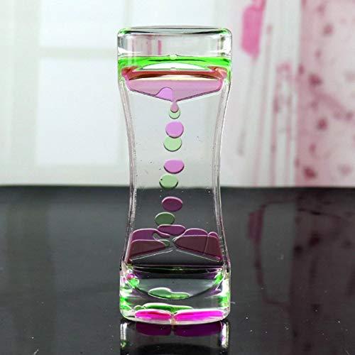 Outlet Liquid Motion Bubbler para Juego sensorial Fidget Toy Niños Actividad Mesa de Escritorio Colores Variados + Verde R