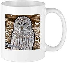 NA Divertente Tazza di caffè Tazza di gufo di Neve Regalo di Festa in Ceramica Unico per uomini e Donne che Amano tazze da tè e Tazza di caffè 12 Once