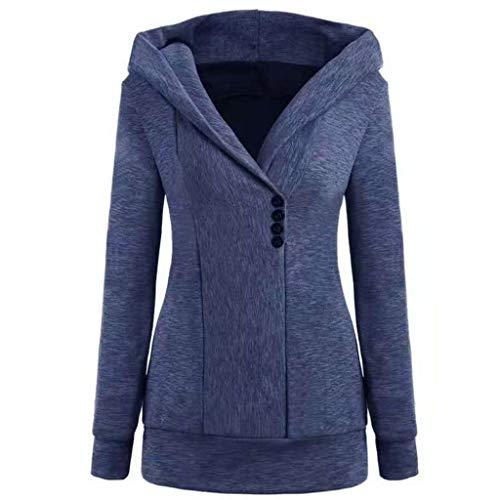 Winterjas met capuchon, warme mantel, knoop, sweatshirt, outwear bovenstuk, damesjas, chique winterjas, grote maat, damesjas, capuchon, warme jas
