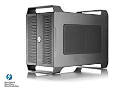 2 PCIe (x16) slots supporting two Half-Length, Full-height, Double-width cards Pci Express 3.0 compliant interface with 2 lanes per slot 2nd Thunderbolt port supports Thunderbolt 3, USB 3.1, and DisplayPort devices Usb power Delivery provides 60W of ...