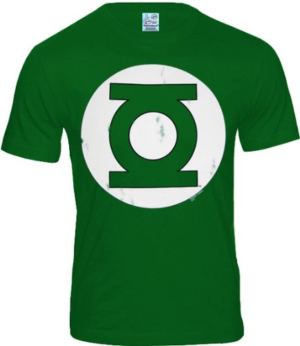 Green Lantern Logo T-shirt DC Comics en coton vert - S