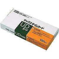 マックス UDシリーズ用タイムカード 300枚