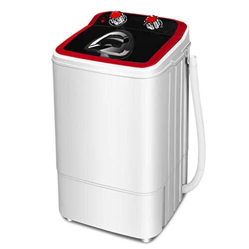 BLLXMX Tragbare Waschmaschine Halbautomatische Waschmaschine, Tiefenreinigung Kompakt 7.2 Kg Gesamtkapazität Einzelwannenwäsche Und Schleuderentwässerung, Für Wohnung, Wohnheim