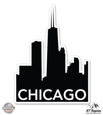 GT Graphics Chicago Skyline - 3