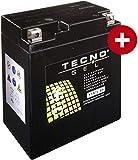 YTX7L-BS Tecno Gel-bateria para GPR 125 4T Carreras Año 2009-2015