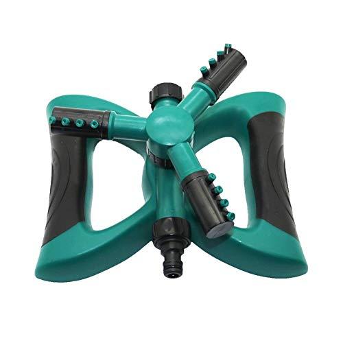 GUANGHEYUAN-J 1 PC 360-Grad-Kreis drehende Wassersprenkler Gras Rasen Automatische DREI Arm Bewässerung Sprinkler Gartenbewässerung Düsen,Einfach zu bedienen (Color : Random)