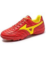 Niños Niños botas de fútbol, zapatos de fútbol de las muchachas de formación atletismo zapatos de deporte de interior Adolescente FG / TF / AG-A-Side cinco competición de fútbol férula zapatillas de