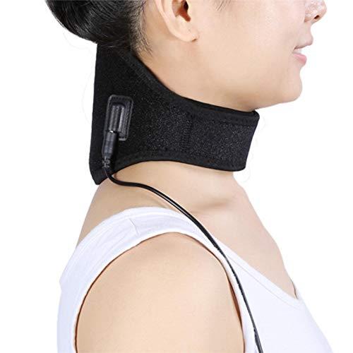 FOLOSAFENAR Envoltura para el Cuello Alivio del Dolor Se calienta rápidamente Almohadilla térmica Fisioterapia para el Cuello Terapia física Cuello, para el Cuello