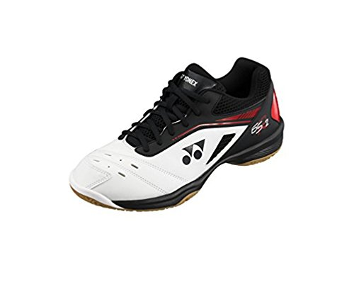 Yonex Badmintonschuh SHB Power Cushion 65 R2 Weiß/Rot (37 EU)