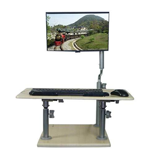 CTO Wandhalterung Stehpult Computer Schreibtisch Tischhöhe Winkel Einstellbar Desktop Für Home Office Drop-Blatt-Tabelle,A,Schreibtisch