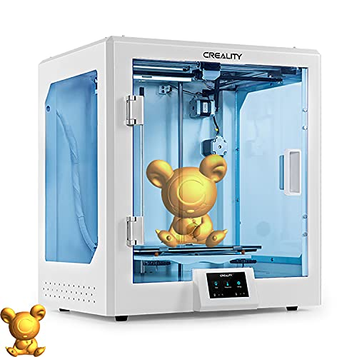 YILUFA Impresora 3D Creealidad CR-5 Pro All-in-One Transparente Y Totalmente Cerrado Impresión con La Función De Impresión De Reanudación De Placa Base Silenciosa 220x220x250mm
