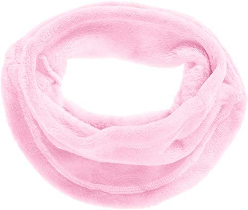 Playshoes Mädchen Kuschel-Fleece-Schlauchschal Schal, Rosa (Rosa 14), (Herstellergröße: One Size)