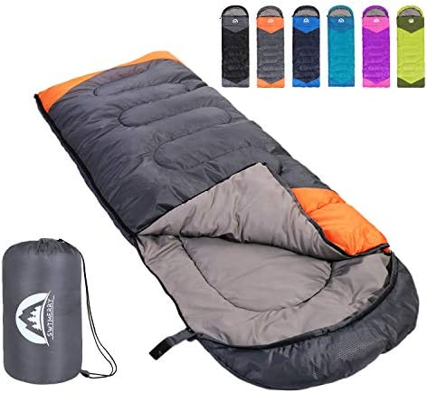 Top 10 Best camping sleeping bags for adults Reviews