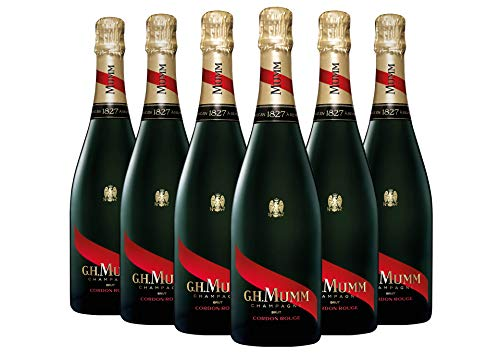 Champagne Brut AOC - Cordon Rouge - G.H. Mumm - 6 x 0,75 l.
