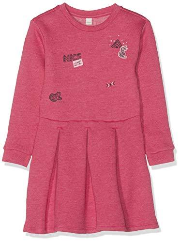ESPRIT KIDS Mädchen Knit Dress Kleid, Rosa (Camelia 355), 128