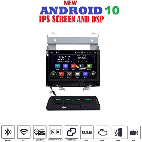 mächtig der welt Android 7.1 GPS USB SD Wlan Bluetooth Autoradio NaviLand Rover Freelander 2 2007, 2008, 2009,…