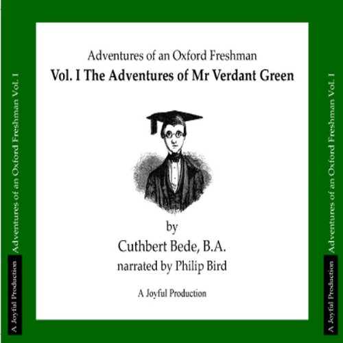 The Adventures of Mr Verdant Green, Volume I audiobook cover art