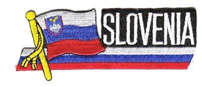 Sidekick Aufnäher Patch Slowenien Fahne Flagge NEU