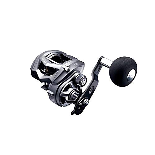 TICA Titan Claw Tc301H Carrete de Pesca, Aluminio, Gris Metalizado, Negro, Gear Ratio 7.3