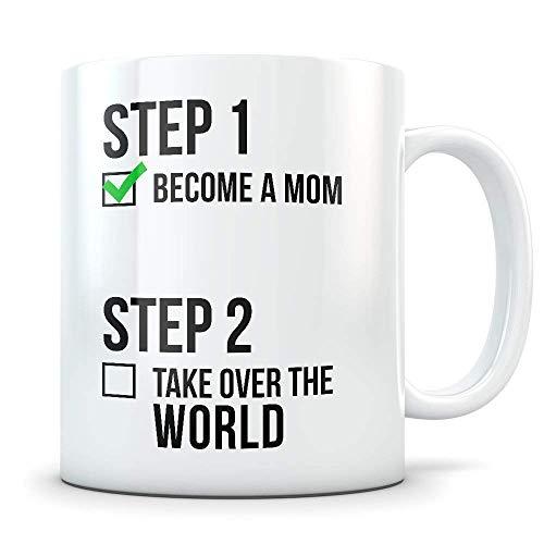 N\A Regalo para mamá Nueva Taza para mamá Futura Primer día de la Madre Regalo para mamá Futura Regalo para mamá Nueva Regalos para Primer bebé Regalos para mamá Nueva Taza para mamá Futura