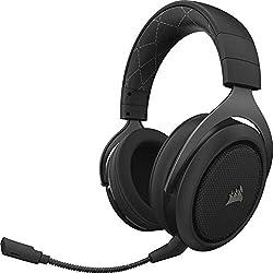 Un confort extrême : la mousse mnésique au revêtement doux et les écouteurs réglables offrent un confort exceptionnel. Impédance: 32 Ohms à 1 kHz. Sensibilité casque: 111dB (+/- 3dB). Compatible avec CORSAIR iCUE Qualité d'assemblage durable : la lég...