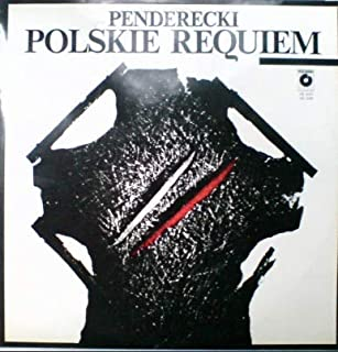 A Polish Requiem Penderecki - Center of Arts in Katowice from 24th to 30th April 1985. LP Set
