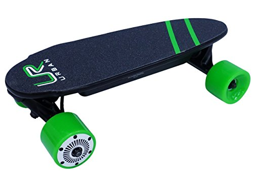 URBAN ROVER UR-1 Mini Skate eléctrico, Verde, M